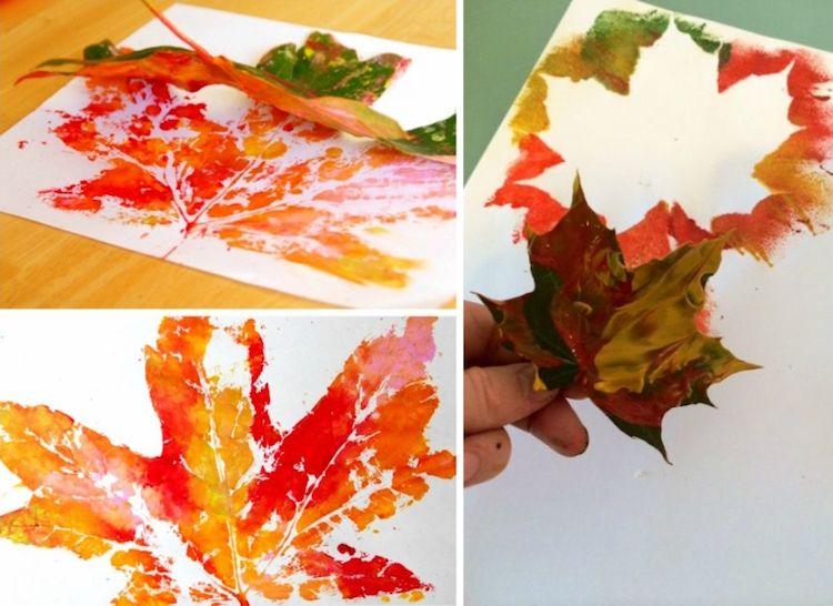 Quelles activités avec feuilles d'automne pour les enfants de la maternelle? #fensterbilderherbst