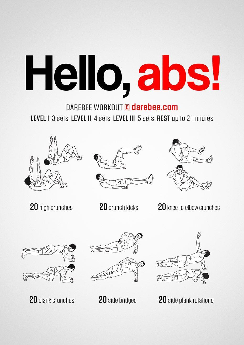 Hello abs Workout  Hello abs Workout