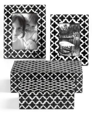 Black And White Decorative Boxes Purva #home  Misc #purva #jewelry #boxes #black #white
