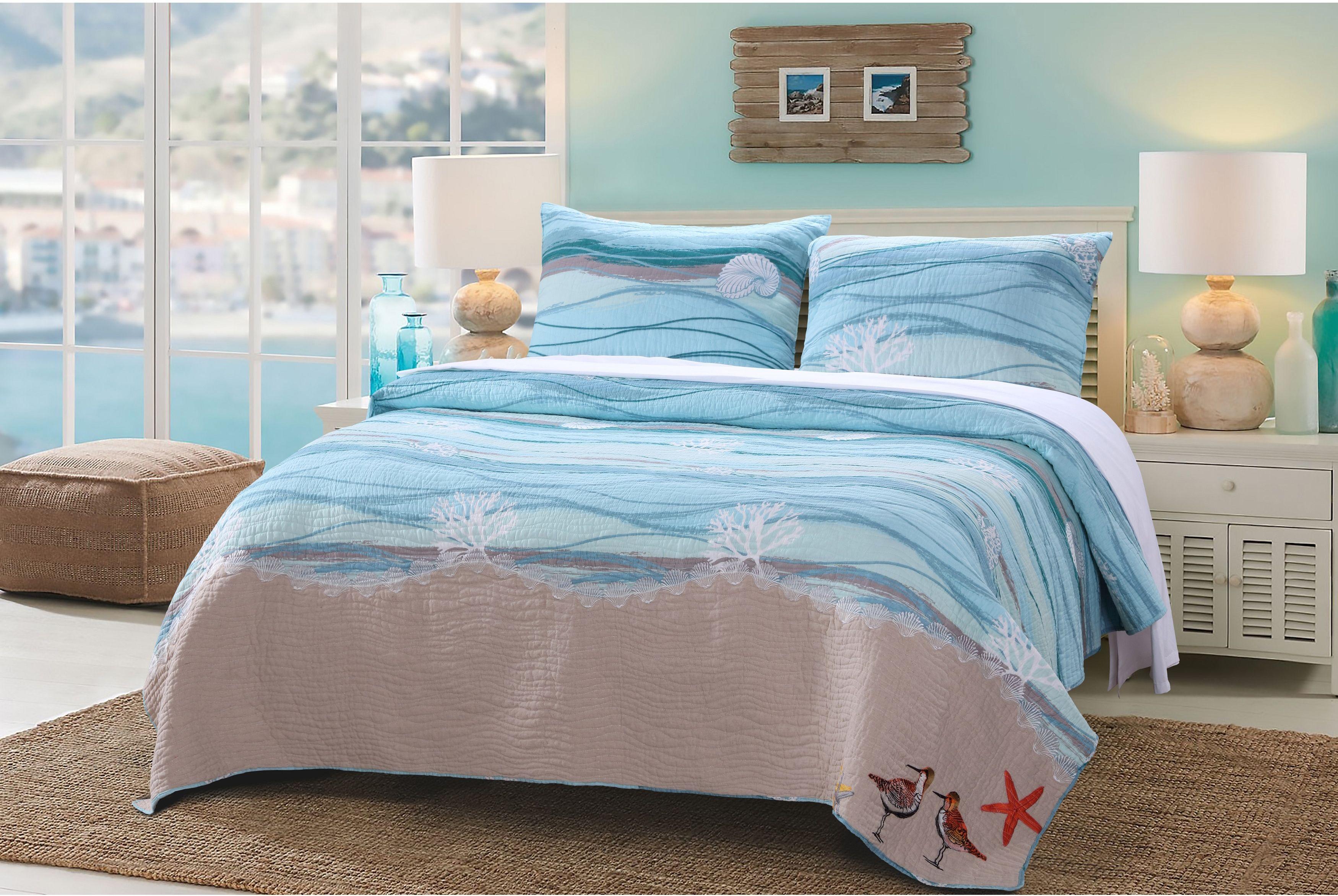 harbor house bedding  nautical comforter set  beachy