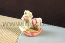 Cavallo A Dondolo Pasta Di Zucchero.Stampo Per Realizzare Un Cavallo A Dondolo Di Zucchero O Di