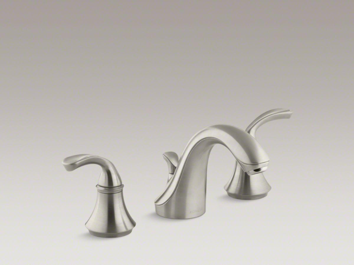 Kohler Forte Faucet In Brushed Nickel Sink Faucets Faucet Sink