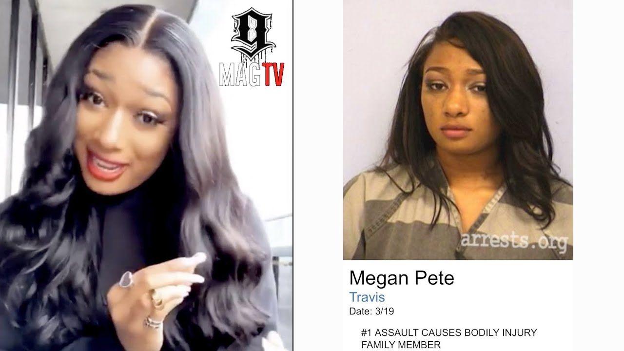 Megan Thee Stallion Tells True Story Behind Her Mugshot Www Atvnetworks Com In 2020 Mug Shots Hollywood Celebrities Megan