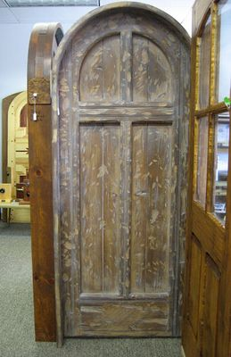 Interior Doors Sold Garcia Round Top Cross Door Attic