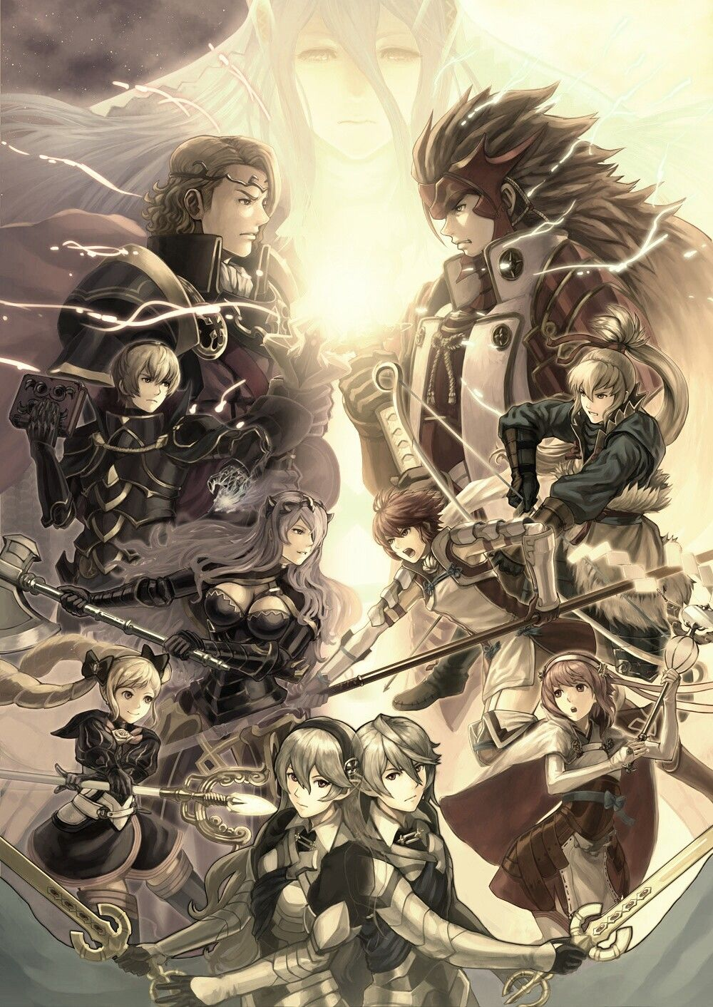 Fire Emblem Fates Wallpaper For Phone Fire Emblem Fates Fire