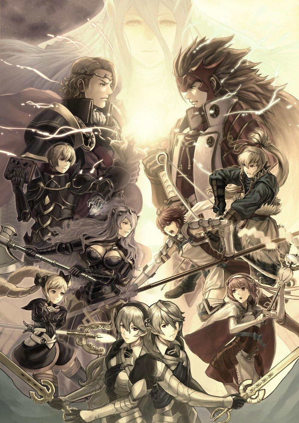 Fire Emblem Fates Wallpaper For Phone Fire Emblem Fates Fire Emblem Fire Emblem Heroes