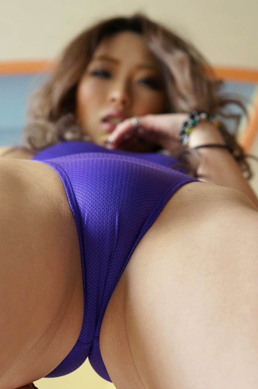 Asian bathing beauties in panties
