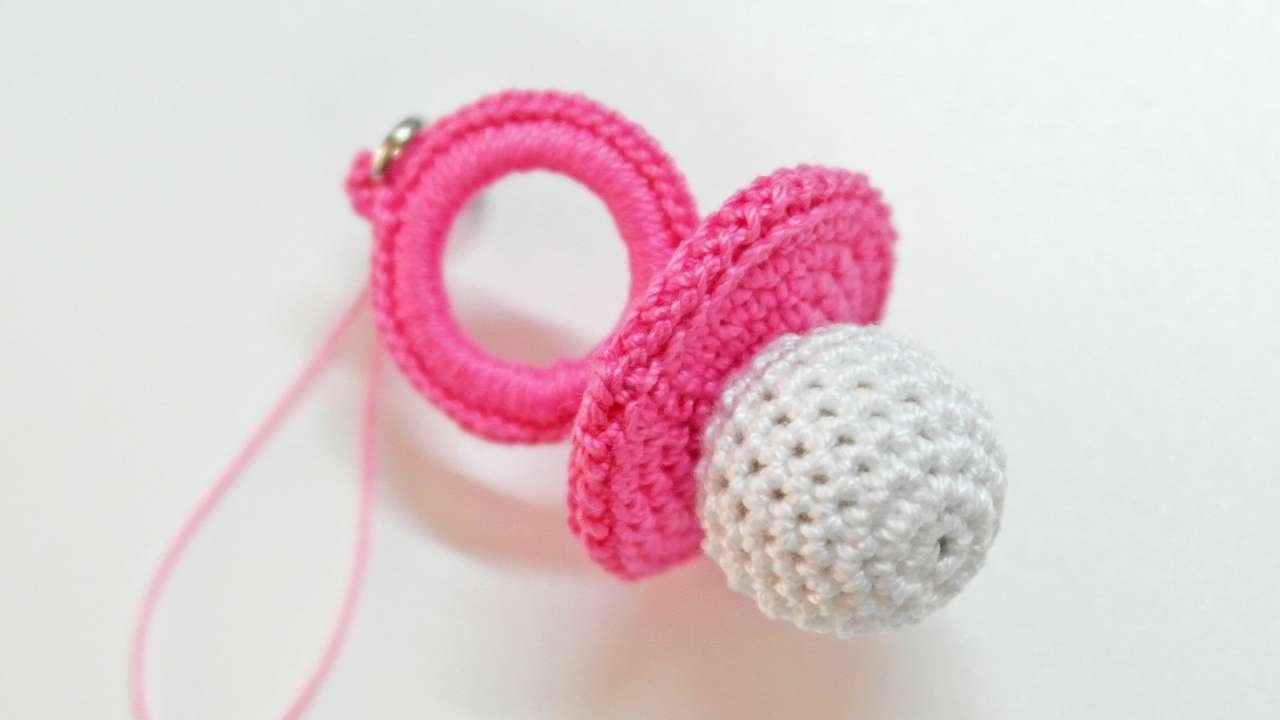 How To Make A Cute Crocheted Charm Baby's Dummy - DIY Crafts Tutorial - Guidecentral