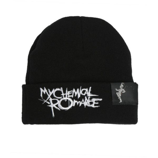 My Chemical Romance Black Parade Watchman Beanie  e5c44ab66205
