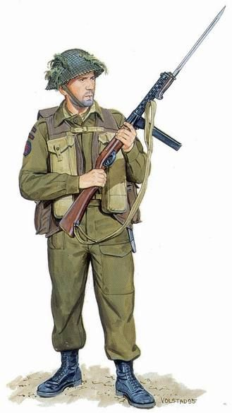 Pin by Chip DuRant on WWII INFANTRY   Canadian army, Canadian