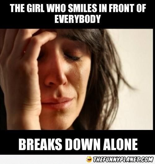 The Girl Who Smiles In Front Of Everybody