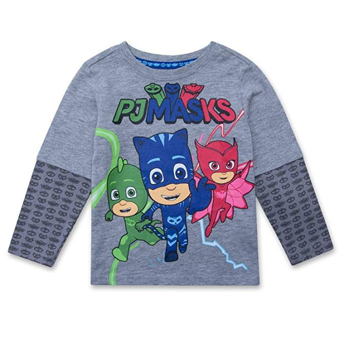 c622c9cc0dfa PJMASKS PJ Masks Long Sleeve T-Shirt Catboy Owlette Gekko Long ...