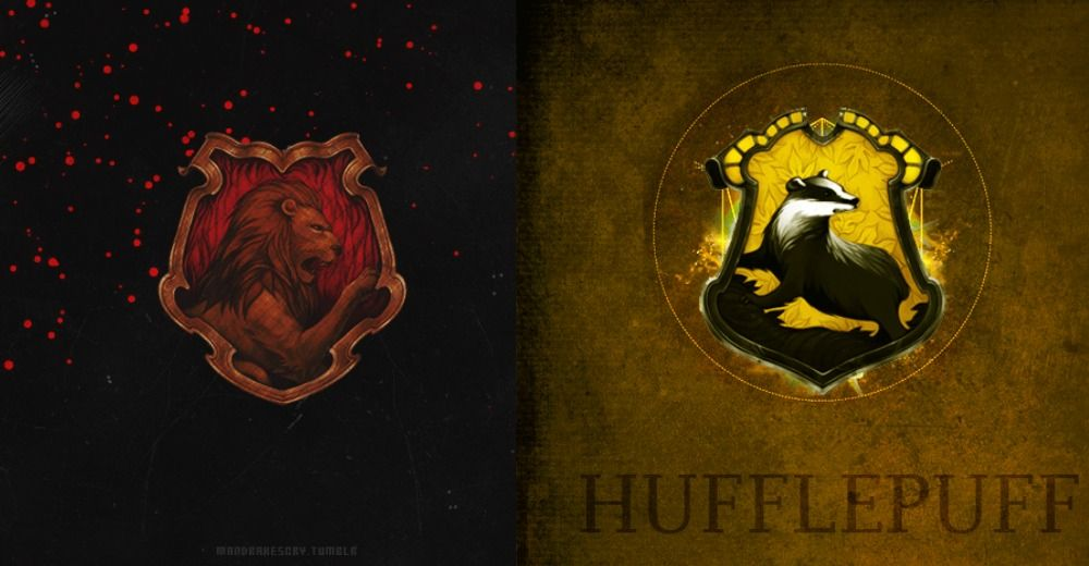 I M A Gryffinpuff Brave Loyal Honest And True What Combo Hogwarts House Are You Hogwarts Houses Hogwarts Harry Potter Hogwarts Houses