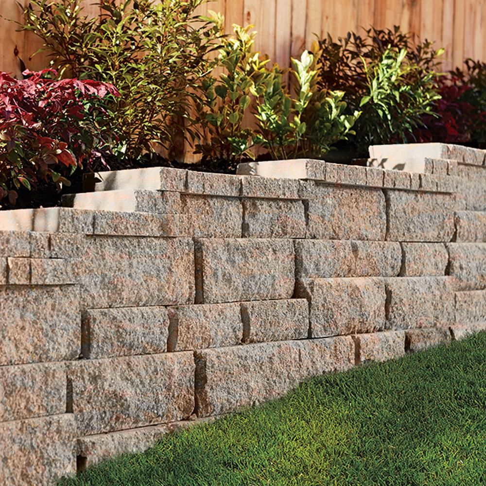 Pavestone Rockwall Small 4 In X 11 75 In X 6 75 In Palomino