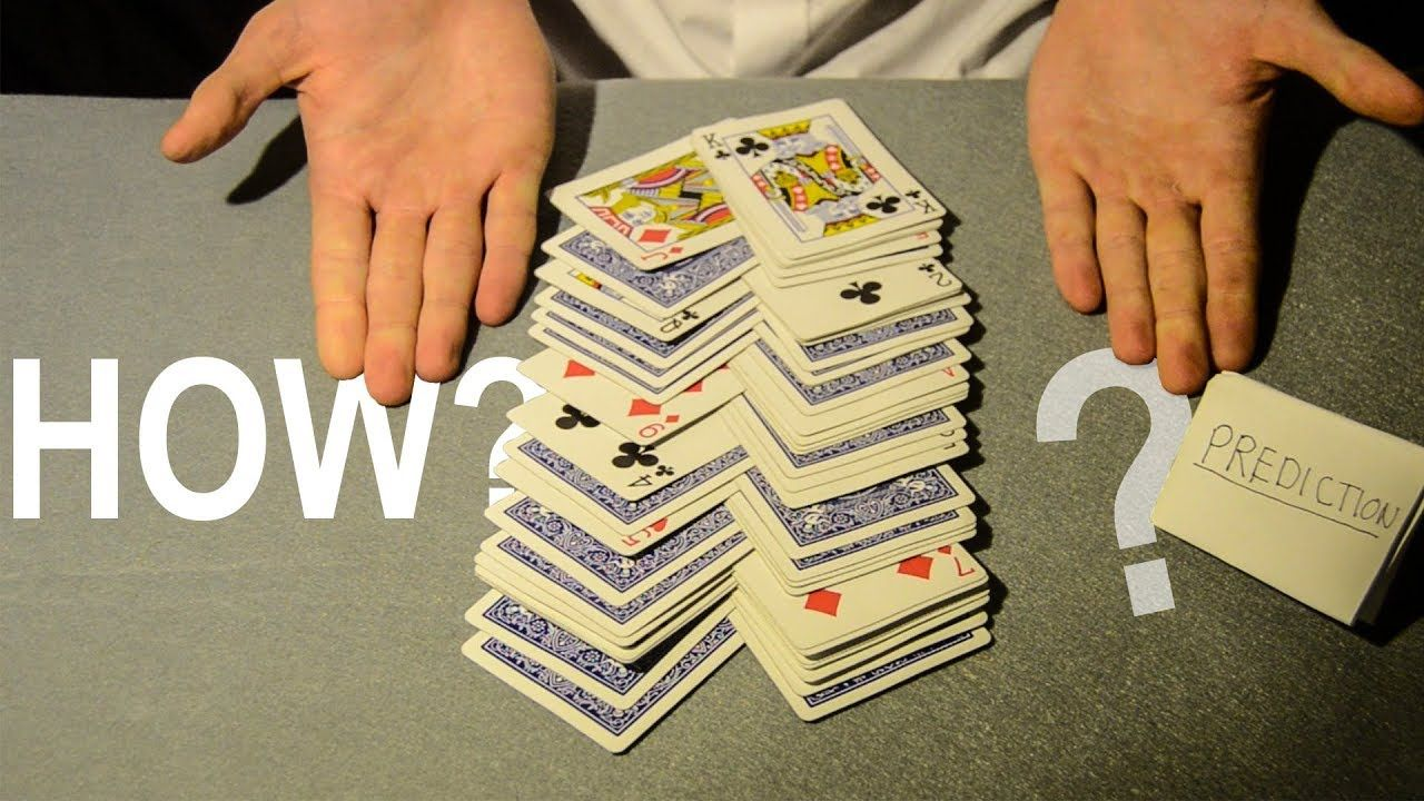 The Card Trick That Cannot Be Explained Revealed Youtube Magic Card Tricks Card Tricks Revealed Easy Card Tricks