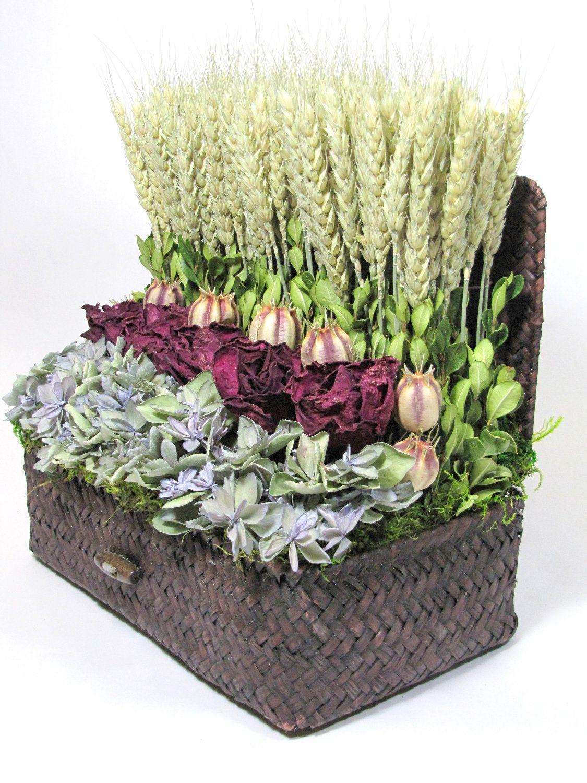 Pin de carin carrizo en arreglos florales arreglos florales flores secas decoracion y dise o - Plantas secas decoracion ...