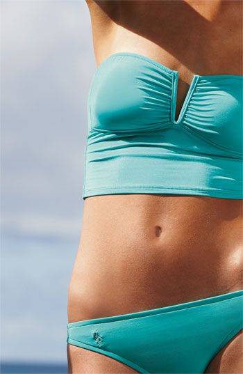 Ralph Lauren Blue label bikini top I love this color and style...I think this shall be mine.