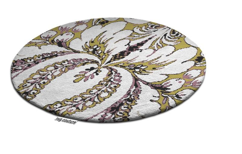 Beautiful Large Round Rug, Nicholas Morrissey designed and had made
