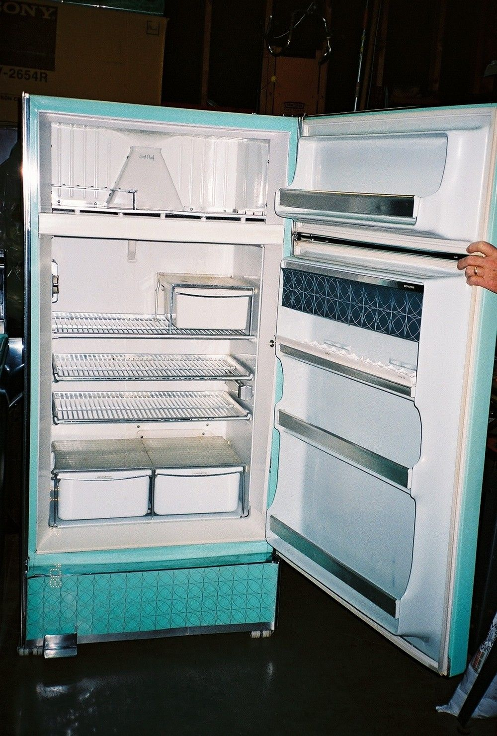 1960 Frigidaire Refrigerator Kitchen Makeover Ideas
