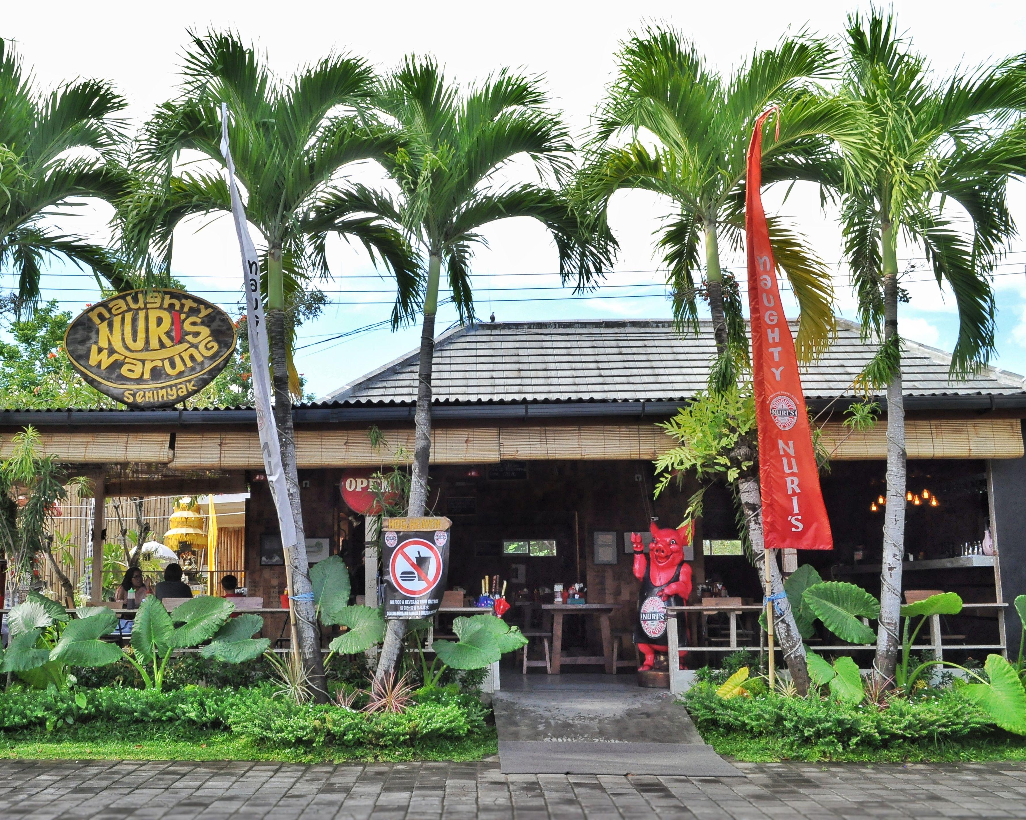 From Ubud to Seminyak. Naughty Nuri's the legendary Ubud's pork ribs have  recently opened in