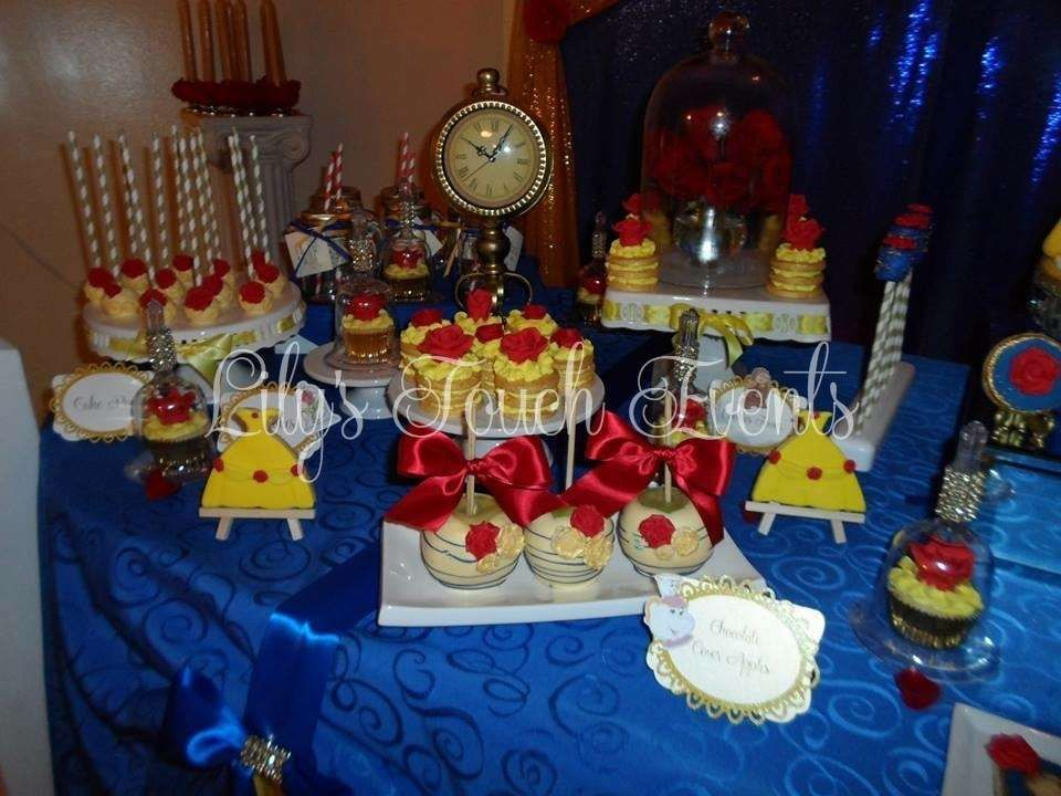 Beauty And The Beast Quinceanera Party Ideas Photo 5 Of 31 Beauty And Beast Birthday Beast Decorations Beauty And The Beast