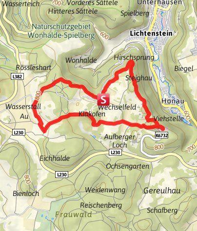 Rundwanderung Von Der Nebelhohle Zum Schloss Lichtenstein