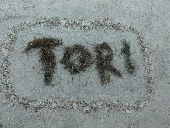 Nothing says love like writing your best buddy's name in seaweed. LOVE YOU BUDDY!! <3