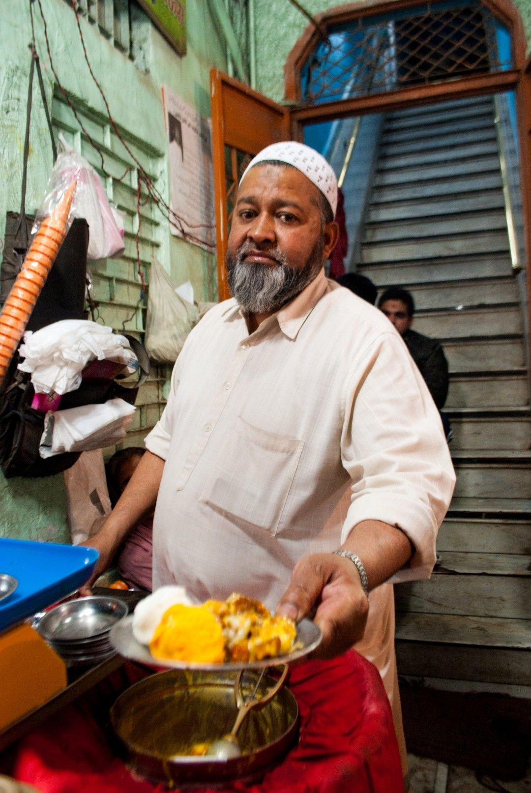Eatlo shaan se... :D    Shahi Tukda with Vanila and Mango kulfi - Zaika Dilli ka.... :))    (Taste from Streets of Delhi, India)