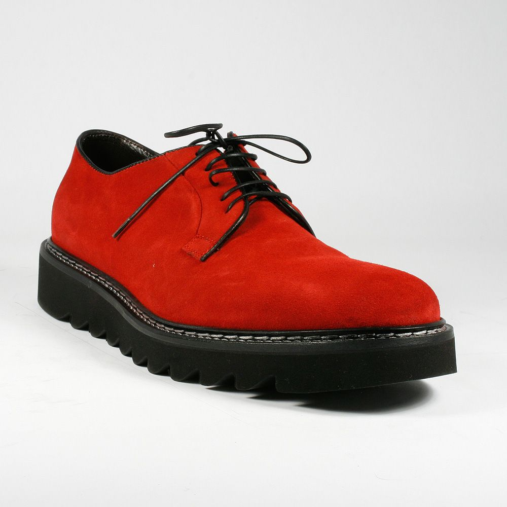 548e253ffbec Cesare Paciotti Men Shoes Camoscio Red Suede Oxford (CPM2235) Material:  Suede Color: Red Details: Designed for Extreme Comfort.Leather Lined  Interior.