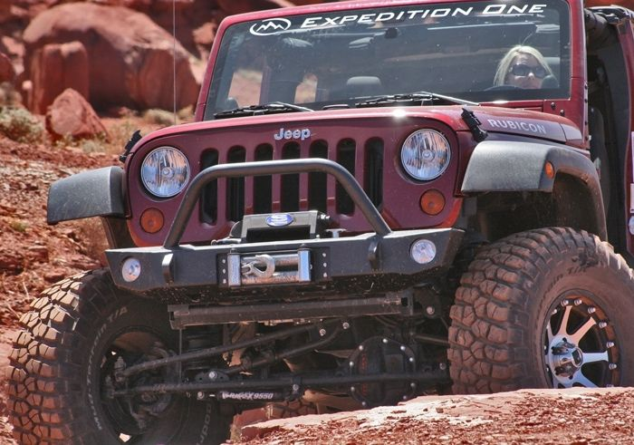 Jeep JK Wrangler Front Bumpers  Expedition One  Jeep  Pinterest