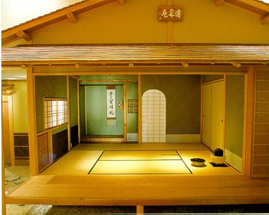 Japanese House Inside tatami room: traditional japanese tea house | japanese tea house