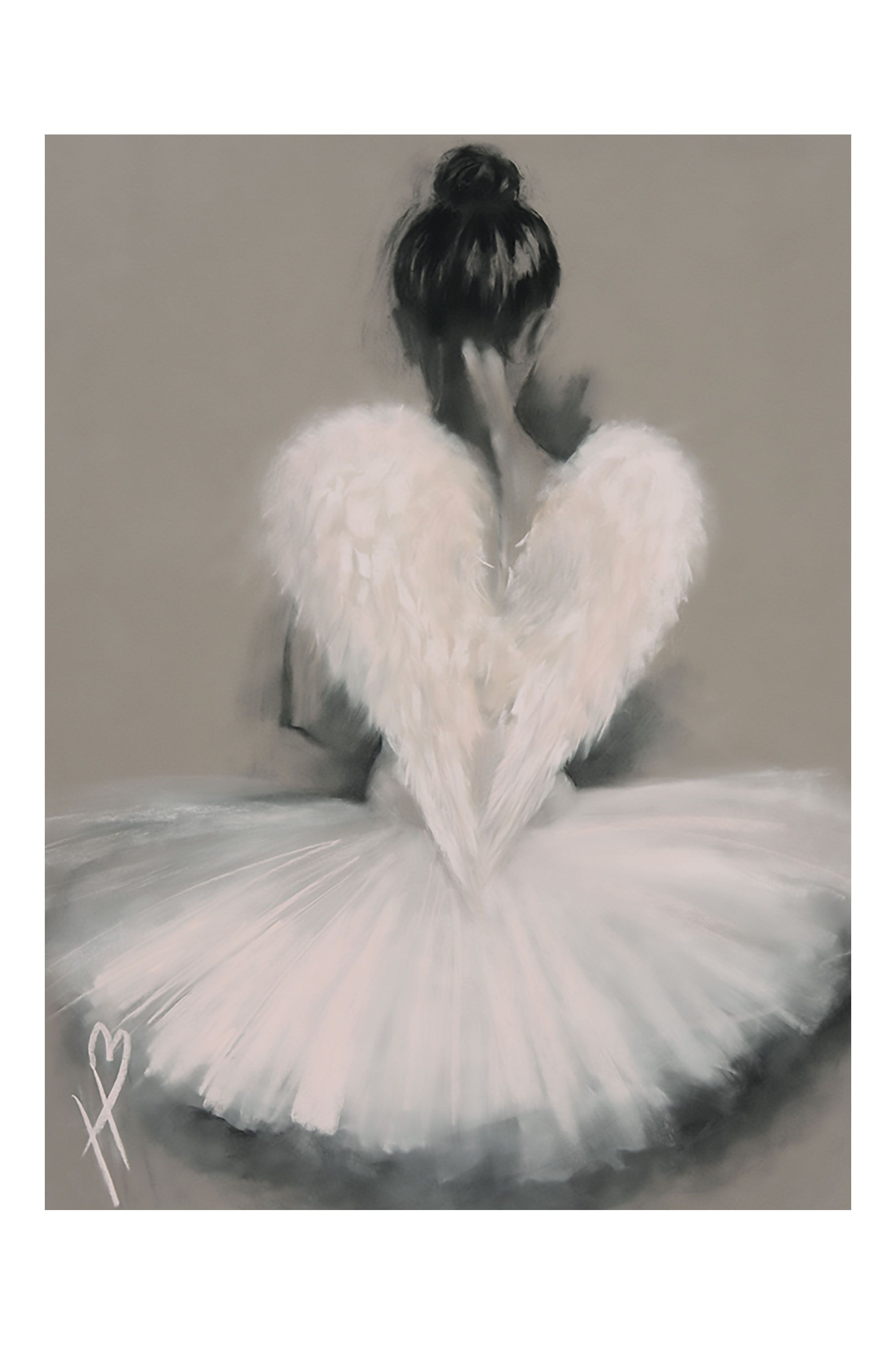 Angel Wings Canvas Print By Hazel Bowmen,  L60 x H80cm | BHS