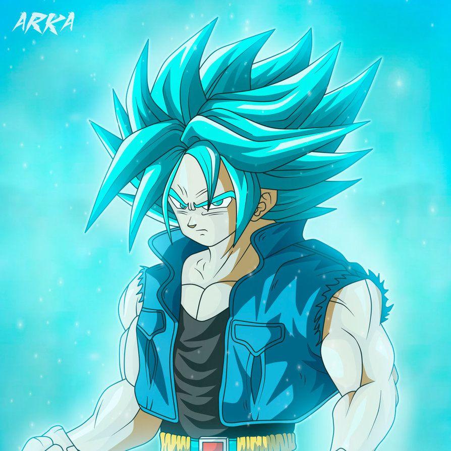 Trunks Super Saiyan Blue Super Saiyajin Azul By Cffc2010 Dragon Ball Super Goku Dragon Ball Super Wallpapers Anime Dragon Ball
