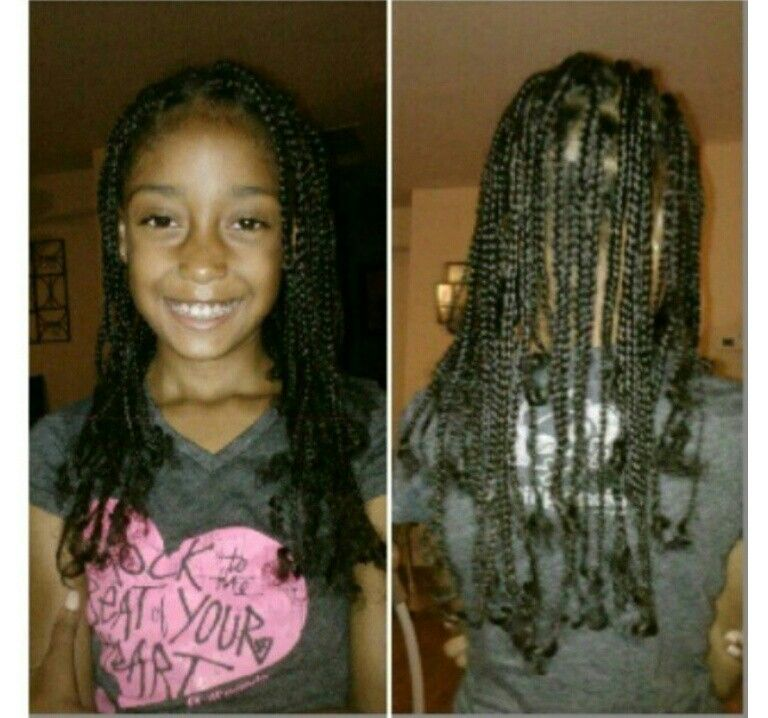 Youth Natural Hair Box Braids | Hair!! | Pinterest | Box ...