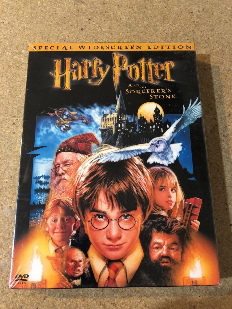 Harry Potter And The Sorcerers Stone Dvd 2002 2 Disc Set