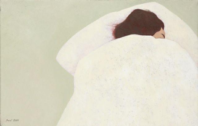 Niña durmiendo - Carmen Pinart