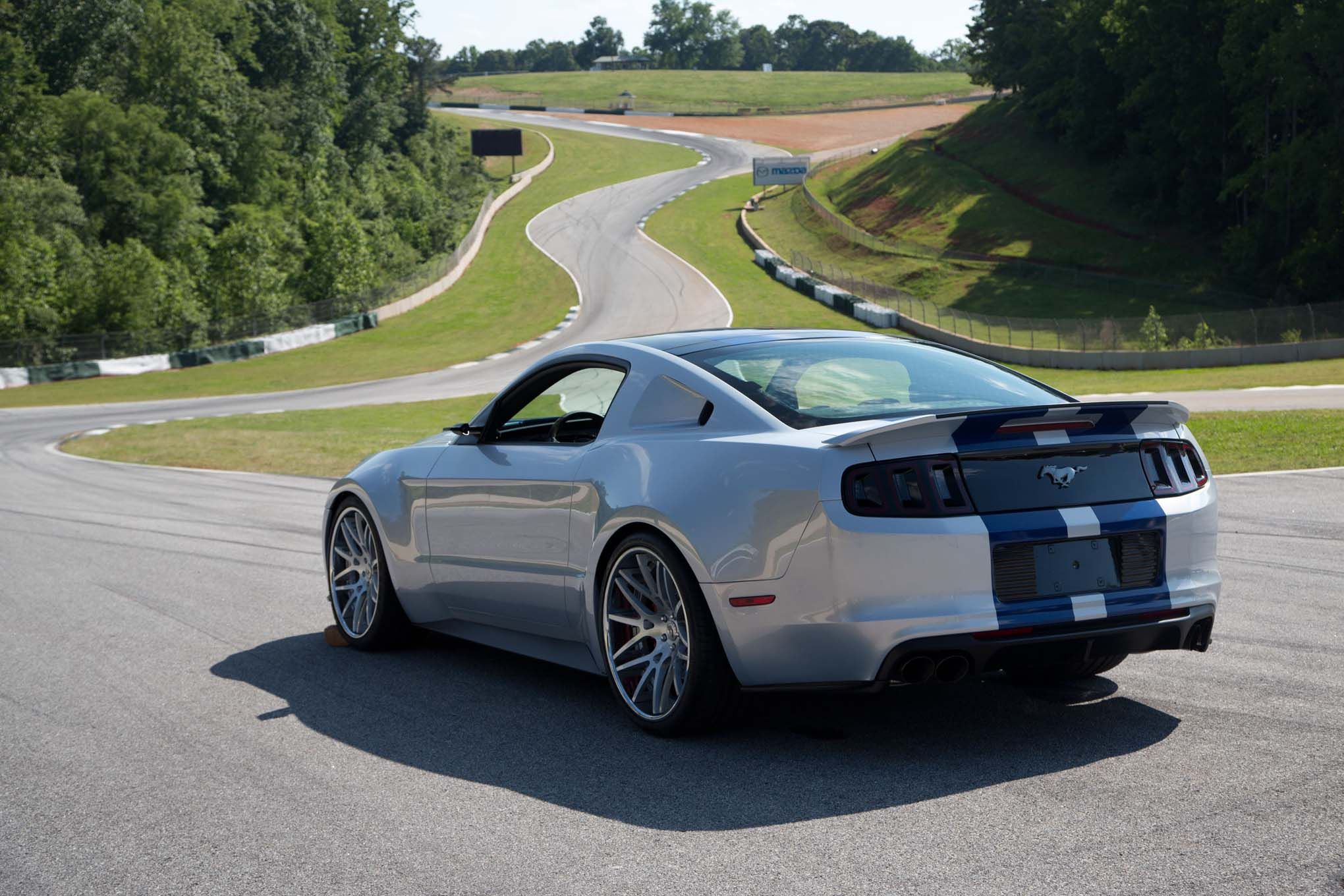 need for speed ford mustang back