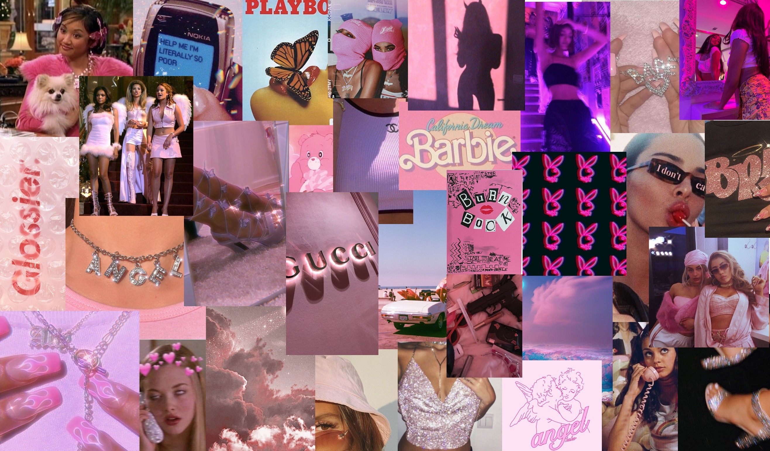 𝖕𝖎𝖓𝖐 𝖇𝖆𝖉𝖉𝖎𝖊 𝖜𝖆𝖑𝖑𝖕𝖆𝖕𝖊𝖗 In 2020 Pink Wallpaper Laptop Aesthetic Desktop Wallpaper Cute Laptop Wallpaper
