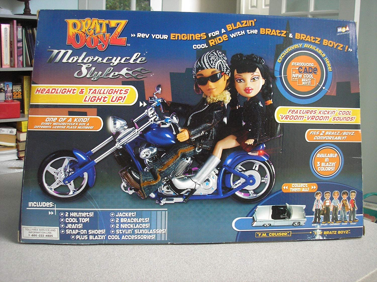 Bratz Boyz Motorcycle Style And Cade Doll Monster High Boys Toys For Boys Cool Fits
