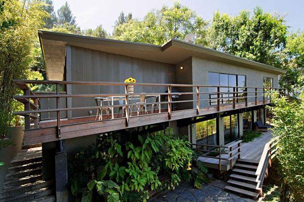 Multi Appeal On Multiview Modern Deck Mid Century Modern House Mid Century Exterior