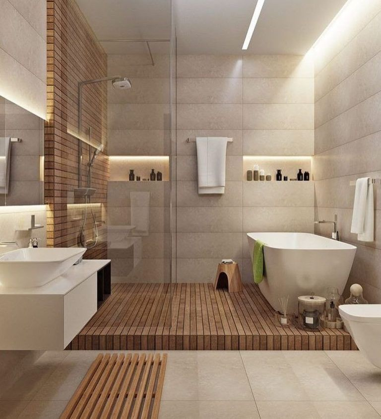 Banheiros Com Banheiras Conheca Seus Tipos E Modelos Com 70