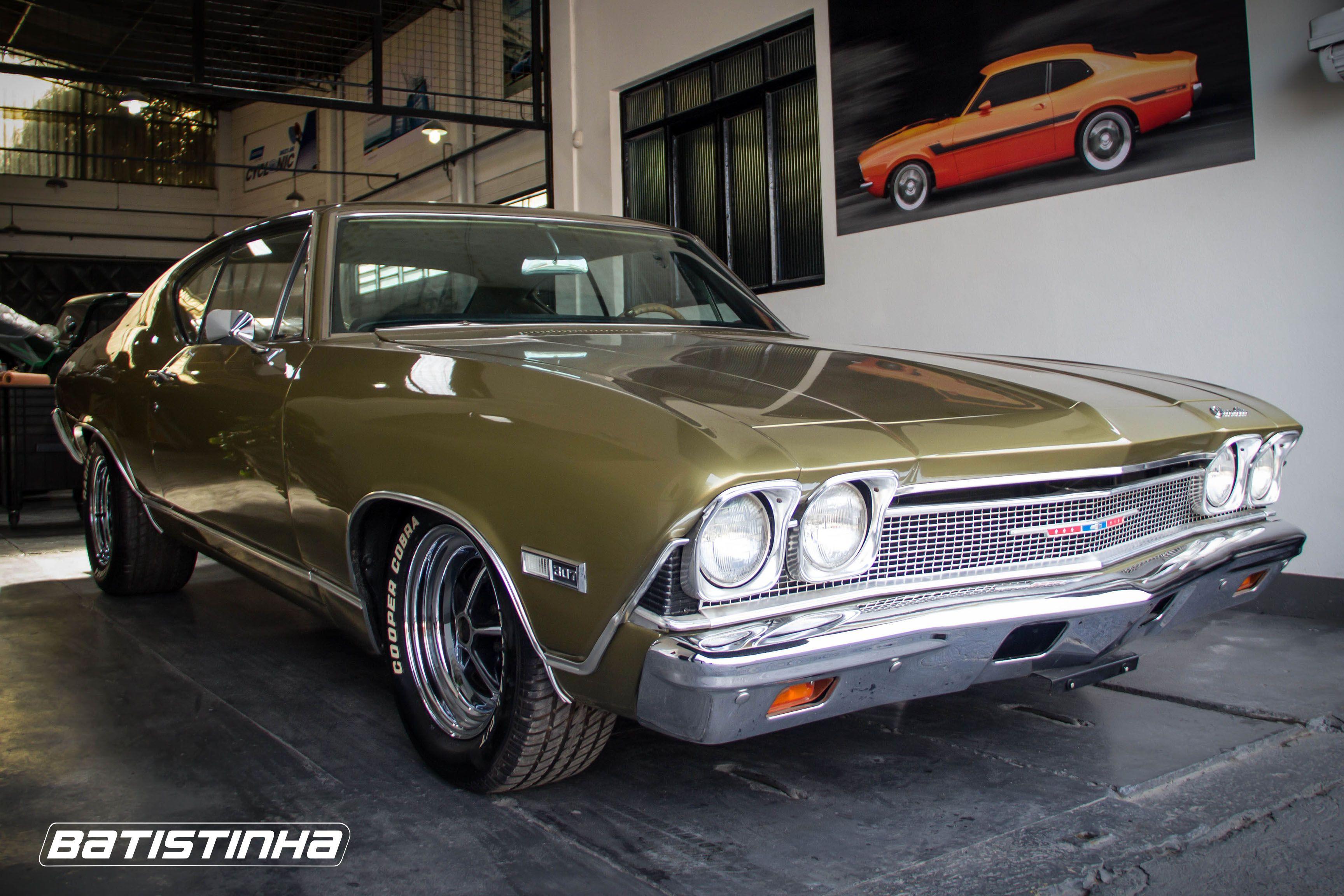 Este Chevrolet Chevelle 1968 receberá mecânica mais moderna, com ...