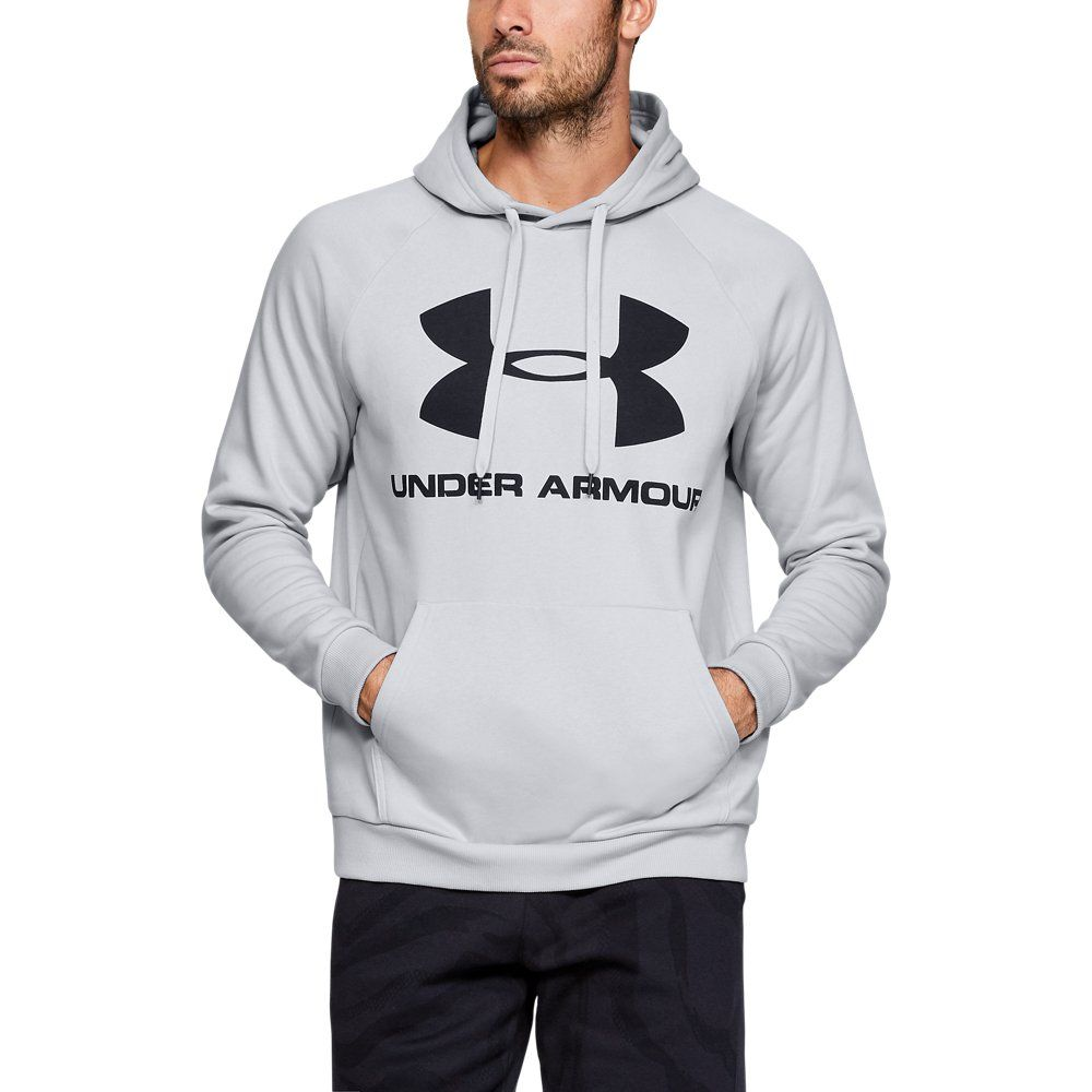 Photo of Under Armour Herren Rival Fleece Logo – Schwarz LG