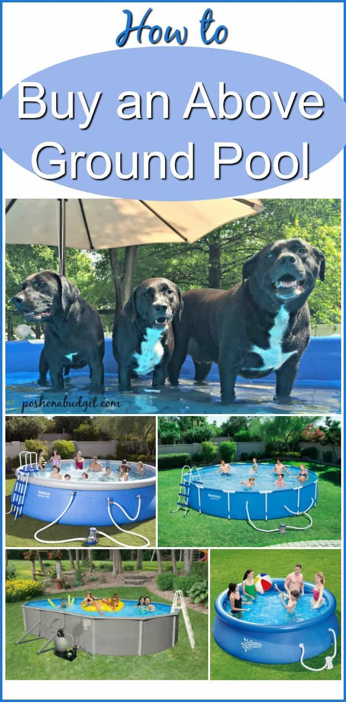 How to Buy an Above Ground Pool