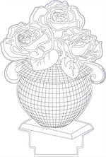 3d Illusion Premium Vector Drawings Lamparas 3d Grabado En Vidrio Disenos De Unas