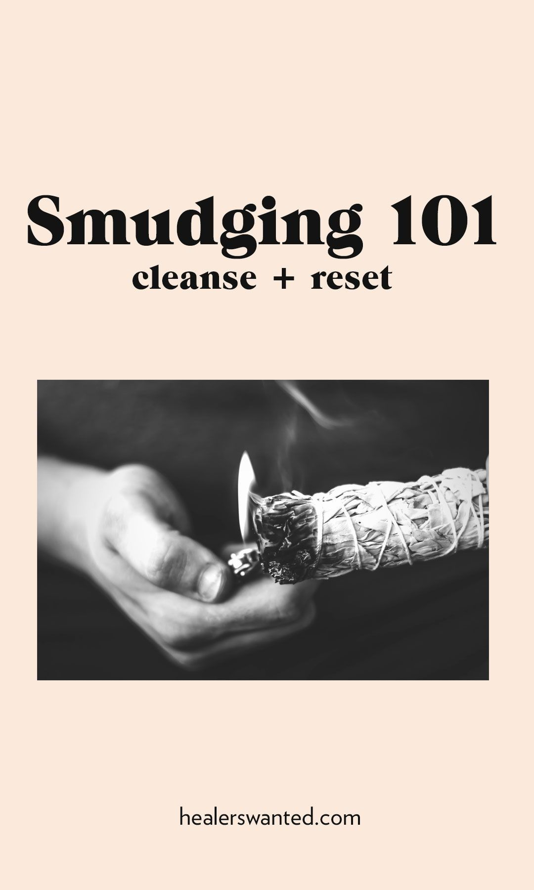 How to sage or smudge your house, a room, or yourself