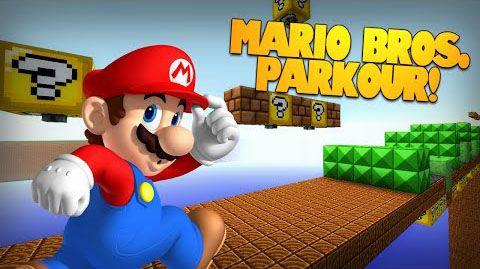 Super Mario Bros. Parkour Map 1.8.9/1.8 - minecraft adventure maps ...