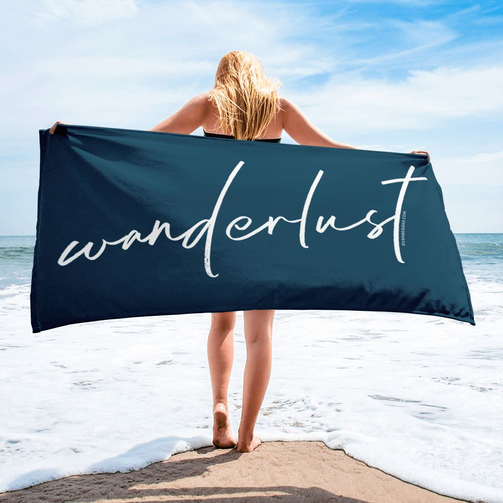 The Perfect Beach Towel For Wanderlusters All Around The World