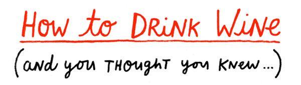 A CUP OF JO: Wine etiquette
