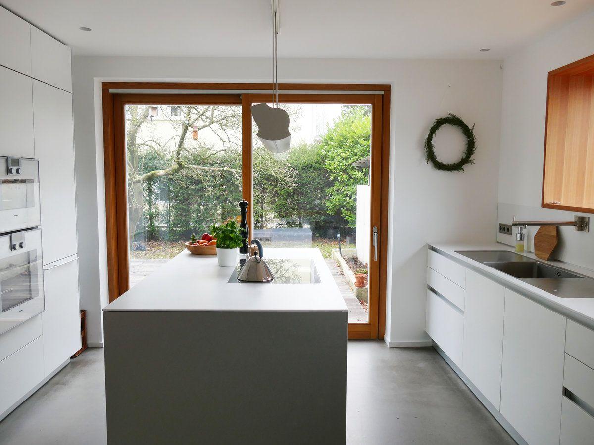 Küche ohne Hängeschränke | Pinterest | Oberschränke, Küchenstudio ...